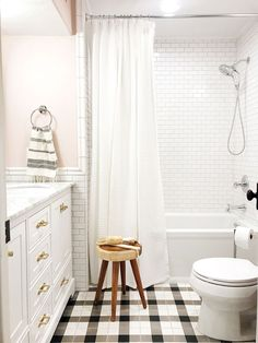 Before And After: The Girls' Bathroom is finished! - Chris Loves Julia