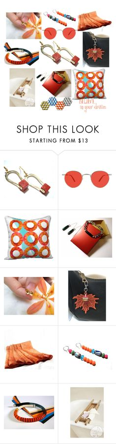 """""""Believe in your Dreams"""" by anna-recycle ❤ liked on Polyvore featuring Garrett Leight, modern, rustic and vintage"""