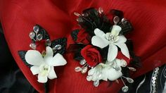 Prom  flowers ,  exclusive  design  by  Penny's  Florist  Shop .
