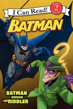 New Arrival: Batman Versus the Riddler by Donald Lemke