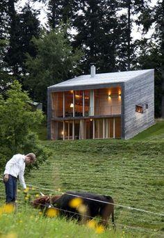HÄUSER-AWARD 2012 2.Preis Ferienhaus in Vorarlberg