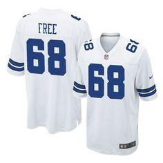 Game Men's #68 Doug #Free White Authentic Nike NFL Dallas #Cowboys #Jersey 2609 Dallas Cowboys 6654 #cowboysjersey