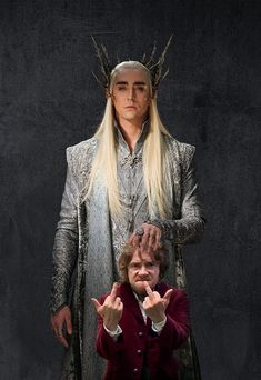 The Hobbit funny pics. Thranduil and Bilbo. Hobbit Funny, O Hobbit, Beau Film, Gandalf, Dc Anime, Bilbo Baggins, Tauriel, Jrr Tolkien, Jolie Photo