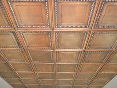 """Decorative Ceiling Tiles, Inc. Store - Cambridge - Faux Tin Ceiling Tile - 24""""x24"""" -"""