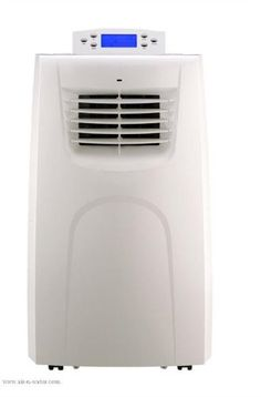 Amico Portable Air Conditioner - 14,000 BTU, Model# AP14000 Auto evaporation allows for continuous operation without water removal. Dehumidifier function. Easy-access filter. Programmable timer. LED display with digital thermostat.  #Amico #Home_Improvement