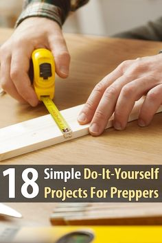 Working on simple do-it-yourself projects like these will make you far more prepared, and you'll learn some valuable skills as you go.
