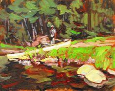Garth Armstrong - Big Trout Lake Algonquin Park 8 x 10