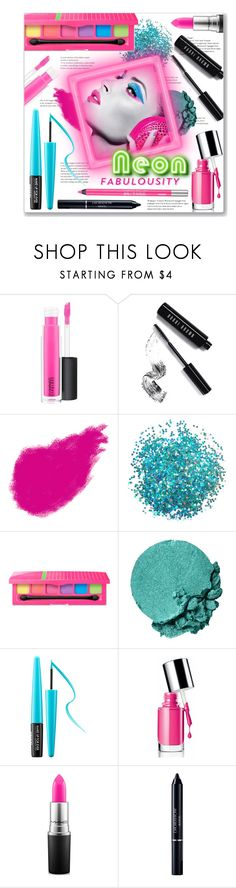 """""""Neon Beauty"""" by leanne-mcclean ❤ liked on Polyvore featuring beauty, MAC Cosmetics, Bobbi Brown Cosmetics, Lancôme, MAKE UP FOR EVER, Clinique, Christian Dior and Urban Decay"""