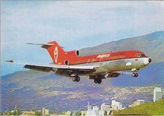 Avianca Boeing 727-100 at Medellin