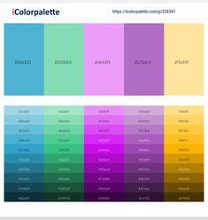 Color Schemes Colour Palettes, Color Trends, Color Combinations, Hex Color Codes, Amethyst Color, Lavender Color, Color Effect, Diy Home Improvement, Color Theory