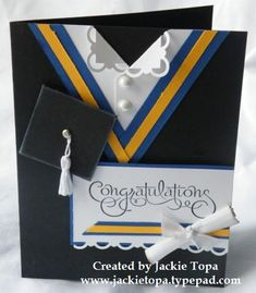 Female Grad Card by jactop - Cards and Paper Crafts at Splitcoaststampers