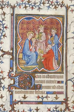 Book of Hours, MS M.141 fol. 60v - Images from Medieval and Renaissance Manuscripts - The Morgan Library & Museum