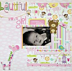 Baby Girl Scrapbook Layouts - Bing Images