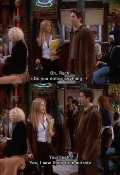 friends | the one with ross's teeth... FRIENDS never ceases to make me smile