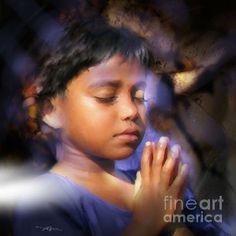 A child's prayer by Bob Salo