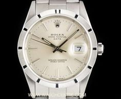 Rolex Stainless Steel Silver Baton Dial Date Gents B&P 15210 Rolex Date, Fashion Watches, Dating, Stainless Steel, Silver, Accessories, Quotes, Money, Jewelry Accessories