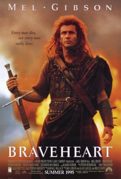 Braveheart - even though the timeline was re-arranged drastically for dramatic effect, this is one of my favorite movies of all time. Back before Mel showed his crazy.