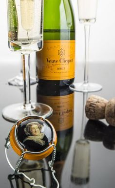 Madame Clicquot, founder of Champagne Veuve Clicquot Ponsardin. Reims, France