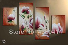 telas de flores abstratas - Pesquisa Google