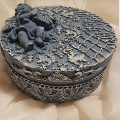 Iron Orchid Designs, Artist Aesthetic, Decoupage Box, Altered Boxes, Angel Ornaments, Vintage Shabby Chic, Twine, Mixed Media, Decorative Boxes