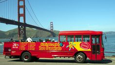 City Sightseeing's Hop-On Hop-Off Open Top Bus Tour: Golden Gate/Sausalito Loop @ City Sightseeing Double-Decker Bus (San Francisco, CA)