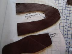 The Oregon Regency Society ~ Northwest Chapter: Miss Charlotte's Shoe Tutorial This is seriously helpful!