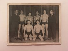 Items similar to Weight Lifting Team, Vintage Photograph, 005 on Etsy