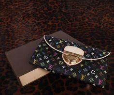 Louis Vuitton M60278 Monogram Multicolore Sarah Noeud Lommebok
