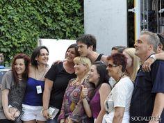 Annalisa, Ker e Luciana with Ian Somerhalder