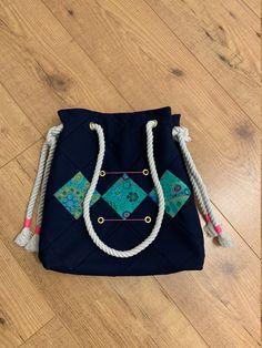 Bleu Rose, Bleu Marine, Diaper Bag, Bags, Etsy, Design, Fashion, Scrappy Quilts, Unique Bags