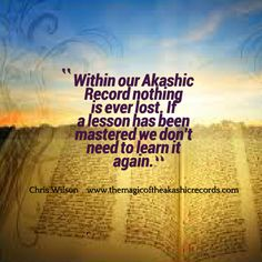 From 'The Magic of the Akashic Records.'