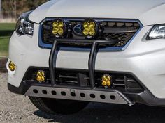 Subaru Crosstrek Rally Innovations Ultimate Light Bar Front Quarter View Close Up Subaru 4x4, Subaru Outback Offroad, Lifted Subaru, Subaru Cars, Subaru Forester, Subaru Outback Accessories, Subaru Crosstrek Accessories, Subaru Tribeca, Car Camper