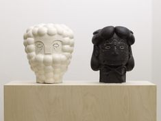 Renee So 'Otto and Max' 2008, ceramic