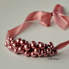 Handmade by Helenee. Oldpink original necklace for every woman and girls. Bangles, Beaded Bracelets, Every Woman, Girls, Handmade, Jewelry, Women, Fashion, Bracelets
