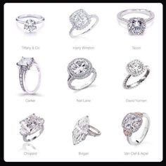 Engagement ring guide.