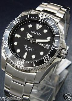 NEW SEIKO PROSPEX DIVER SCUBA AUTOMATIC MEN WATCH SBDC007, Titanium | eBay