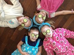 #DIY Kids' Spa Party