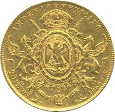 Herencia Numismática de México: Serie II Old British Coins, Coin Worth, Gold Money, Gold And Silver Coins, Show Me The Money, Second Empire, World Coins, Rare Coins, Coin Collecting
