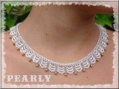 dentelle blanc nacré | by pearly beads