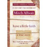 """Awesome story about the """"many faces"""" of faith. Mitch Albom is an amazing author."""
