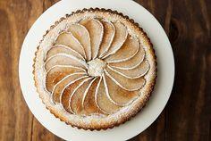 pear frangipane tart recipe | use real butter
