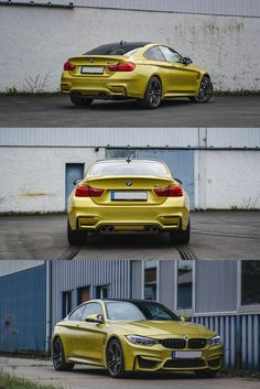 Rent BMW M4 starting from 180$ per day | Available in Munich and Frankfurt | #bmw #m4 #yellow #luxury #car #cars #german #sports #supercar #auto #drive #speed #automotive