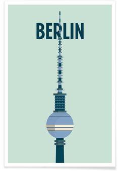 Berlin Art Print by Designliga now on Juniqe.com | Art. Everywhere.