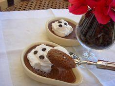 Mousse de café e chocolate