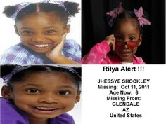 Still missing. Someone has to know where this precious little girl is.
