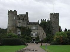Malahide Castle, Dublin, Ireland... actually any castle would be awesome