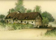 Sharland, Edward - Anne Hathaways Cottage