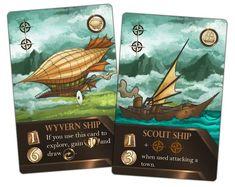 Ship and Airship