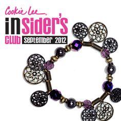 Limited-edition. Not available in any catalog!  #CookieLee #jewelry #fashion