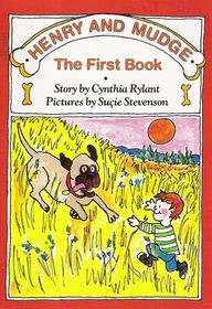 Henry and Mudge: The First Book – written by Cynthia Rylant (Kent), illustrated by Sucie Stevenson • Aladdin Books, 1987 // Find in our collection: OHIO R